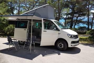 Kampeerbus Volkswagen California Kurti  in Graz huren van particulier