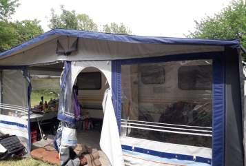 Caravan Knaus Treuer Begleiter in Sinsheim huren van particulier