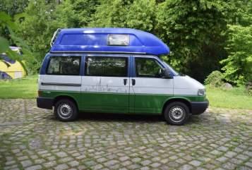 Kampeerbus Volkswagen Coach in Mettmann huren van particulier
