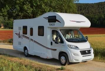 Alkoof Rimor 2018 camper !! in Vught huren van particulier