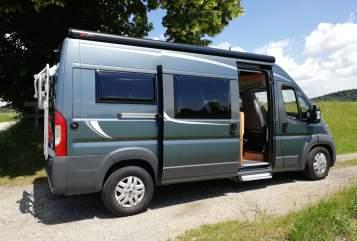 Buscamper Pössl Pössl 2win Plus in Glonn huren van particulier