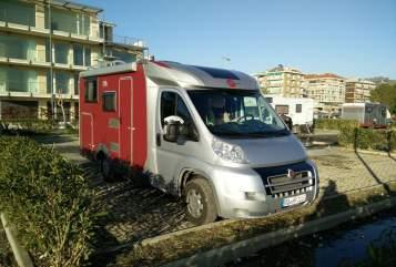 Halfintegraal Fiat Ducato Traveller in Kiefersfelden huren van particulier