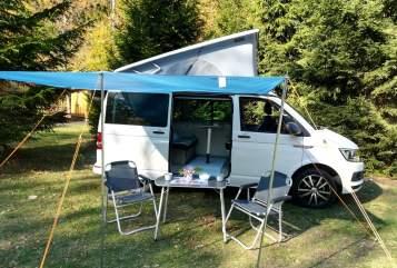 Kampeerbus Volkswagen Bullino in Nürtingen huren van particulier
