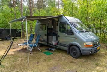 Buscamper Renault Master the Master in Middenmeer huren van particulier