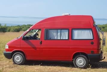 Kampeerbus VW T4 California Berta in Westhausen huren van particulier