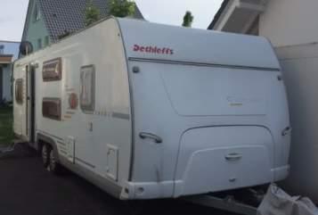 Caravan Dethleffs Camper 720SK in Berlin huren van particulier