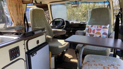 Kampeerbus Volkswagen VW T3 bus in Woerden huren van particulier