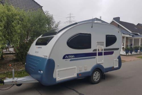 Caravan Adria Hannibal in Börnsen huren van particulier