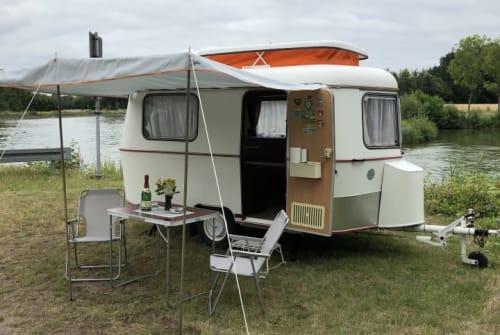 Caravan HYMER Eriba ERIBA PAN in Greven huren van particulier