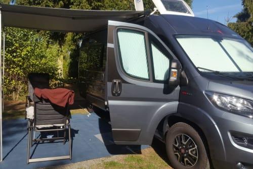 Buscamper Fiat Ducato Benny in Bremen huren van particulier