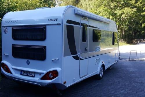 Caravan Knaus Silverstar in Amberg huren van particulier