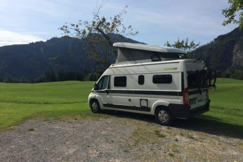 Buscamper Hymer Samy in München huren van particulier
