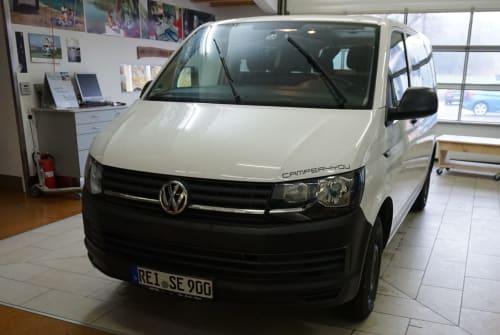 Kampeerbus VW Bully 2 in Bad Reichenhall huren van particulier