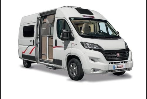 Buscamper Challenger Vany  in Neustadt an der Orla huren van particulier