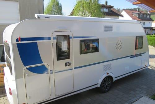 Caravan Knaus Sport Silver Selection Second Home in Rudersberg huren van particulier