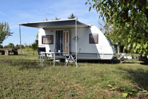 Caravan Knaus Kaffee to go in Waghäusel huren van particulier