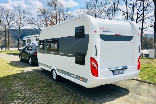 Caravan Hobby PX One in Neustadt huren van particulier