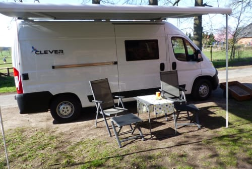 Buscamper Clever, Citroen Hoysi in Uchte huren van particulier