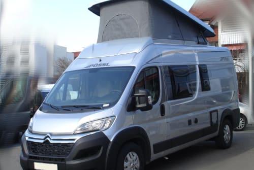 Buscamper Pössl 2Win Plus XL in Bötersen huren van particulier