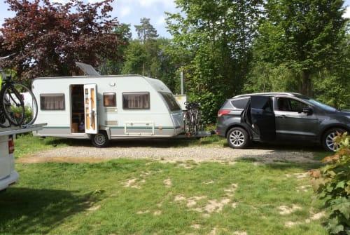 Caravan Knaus Tabbert Breisgauholiday in Herbolzheim huren van particulier
