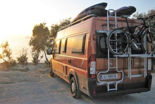 Buscamper Pössl Curiosity in Wattens huren van particulier
