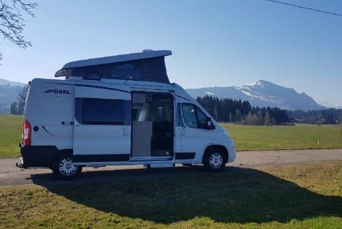 Buscamper Pössl Familiencruiser in Sulzberg huren van particulier