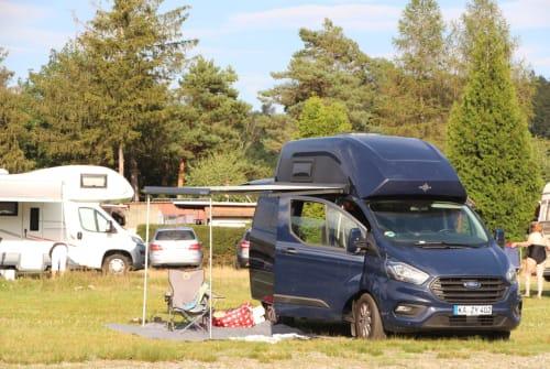 Kampeerbus Ford Westfalia Herr Womo in Waldbronn huren van particulier
