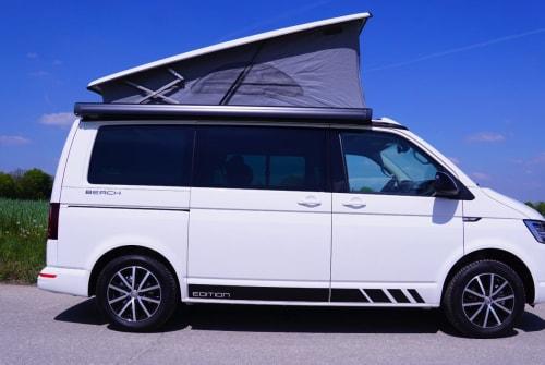 Kampeerbus VW Beach in München huren van particulier