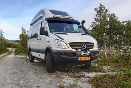 Buscamper Mercedes  Zwerver in Wapenveld huren van particulier