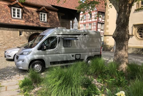 Buscamper Pössl Roadcar 540 TOM in Mosbach huren van particulier