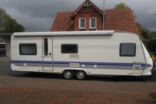 Caravan Hobby 650 kmfe Prestige LANDei in Schwarme huren van particulier