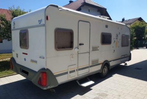 Caravan Knaus Edda in Luhe-Wildenau huren van particulier
