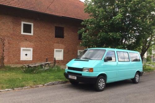Kampeerbus VW Wanda in Linz huren van particulier