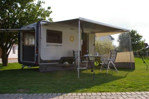 Caravan Knaus Deseo Transport in Goldkronach huren van particulier