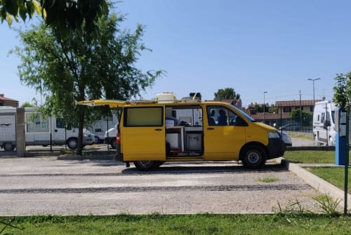 Kampeerbus VW Postkutsche in Dortmund huren van particulier