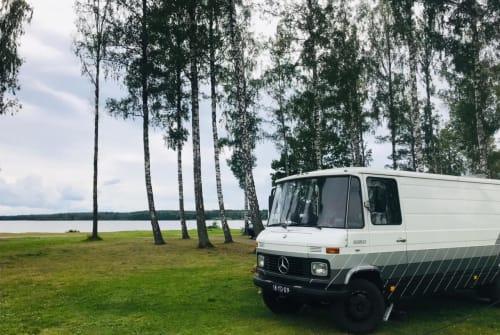 Buscamper Mercedes-Benz  Mercedes camper in Stokkum huren van particulier