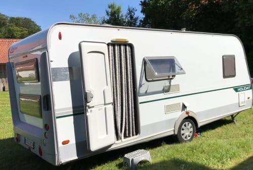 Caravan Eifelland Happy Camping in Bad Waldsee huren van particulier