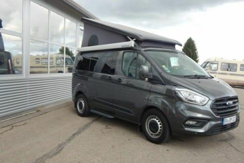 Kampeerbus Ford Davino in München huren van particulier