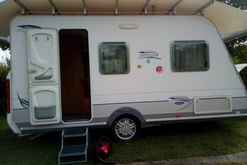 Caravan Caravelair Camperfun 1 in Hinzenbach huren van particulier
