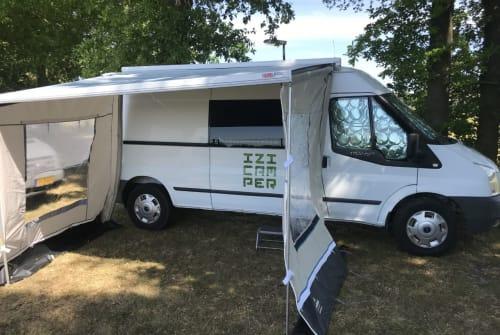Buscamper Ford IZI Camper in Purmerend huren van particulier