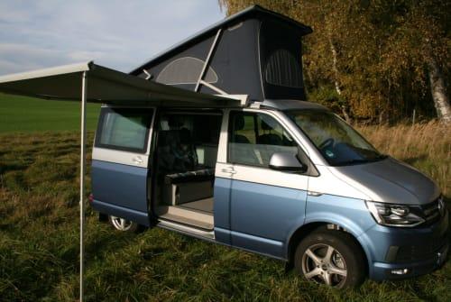 Kampeerbus VW Erdinger Hexe in Erding huren van particulier