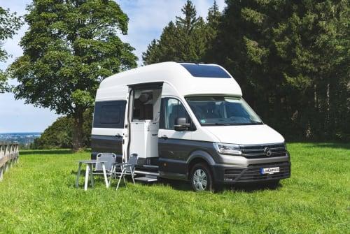Buscamper VW GrandCalifornia in Freising huren van particulier