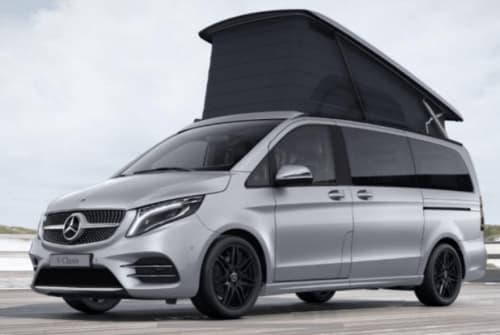 Kampeerbus Mercedes Benz Marco Polo in Haar huren van particulier