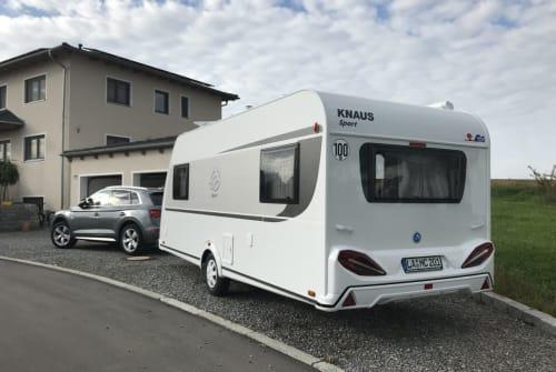 Caravan Knaus Sporty in Weihmichl huren van particulier