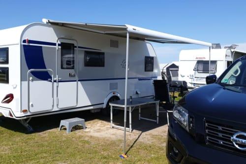 Caravan Knaus Family Camper in Hiddenhausen huren van particulier
