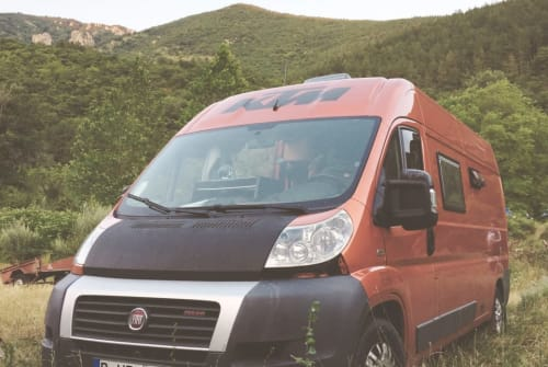Buscamper Fiat Ochi in Lissabon huren van particulier