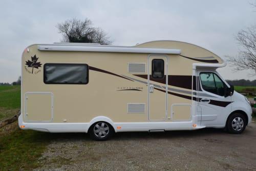 Halfintegraal Ahorn FL Reisemobile in Mettmann huren van particulier