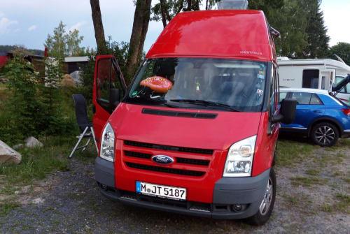 Kampeerbus Ford Nugget Lissy5 in München huren van particulier