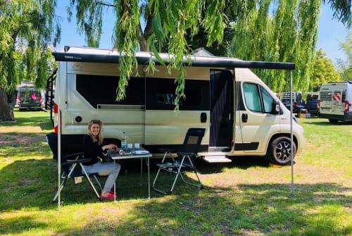 Buscamper Mooveo Goldie in Ingelheim am Rhein huren van particulier