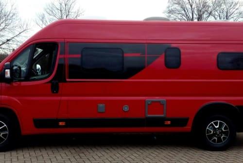 """Buscamper Cliff 640, Fiat Ducato """"Der Rote"""" in Nienburg huren van particulier"""